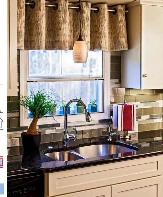 Cortinas para cocina Gua de decoracin con modelos ideas y fotos