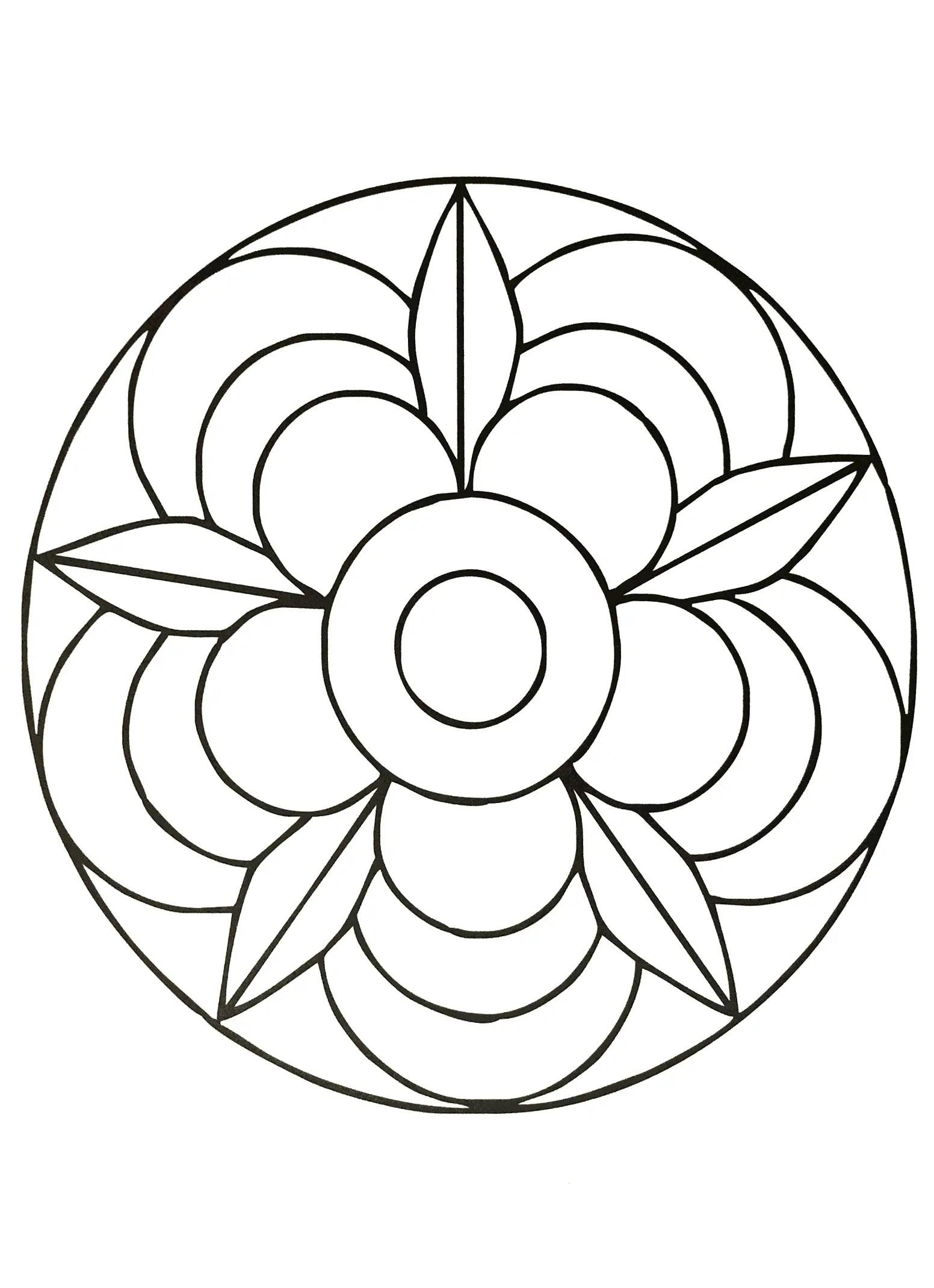 Mandalas: Guía con Imágenes de mándalas para colorear