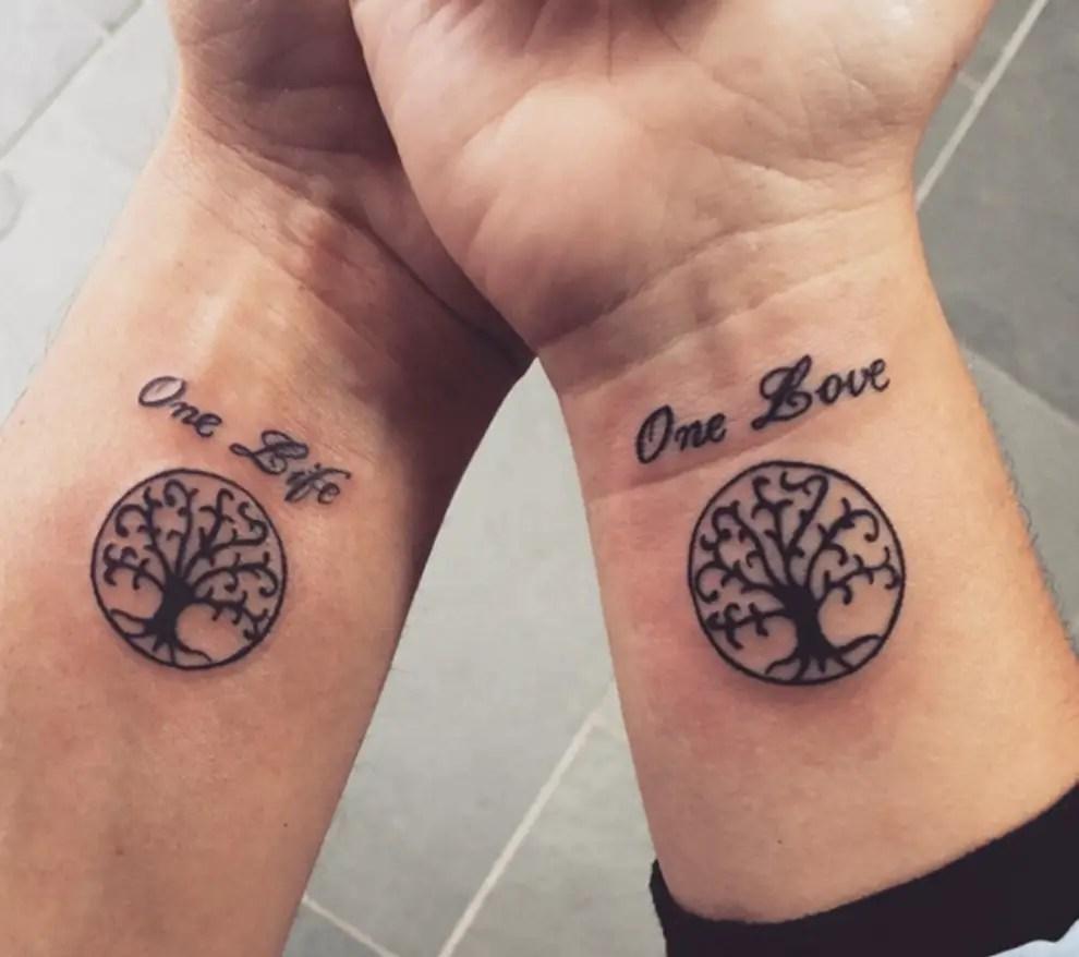 Tatuajes Para Parejas 60 Tattoos Más Románticos Con Significado