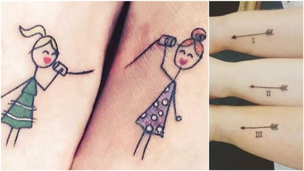 Te Derretirán El Corazón 18 Ideas De Tatuajes Pequeños Para Hermanas