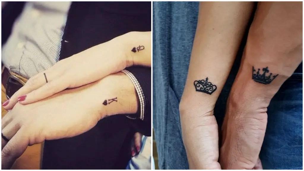 Amor Y Tinta Tatuajes Pequeños Para Parejas Locamente Enamoradas