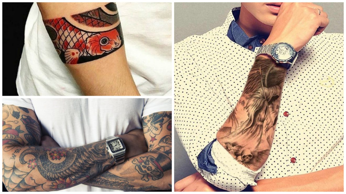 Tatuajes En El Antebrazo Para Hombres Ideas Que La Rompen En El