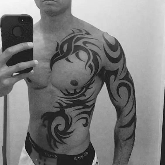 Tatuajes En El Abdomen Para Hombres 46 Ideas En Fotos Muy Sexys