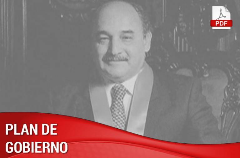 Somos Perú - Plan de Gobierno