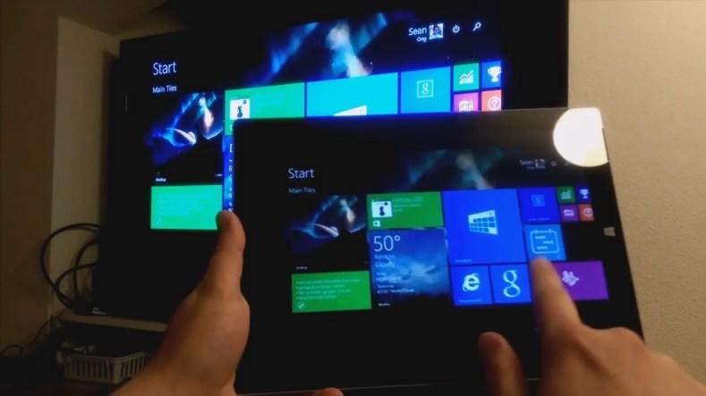 ver pantalla movil tablet en xbox one