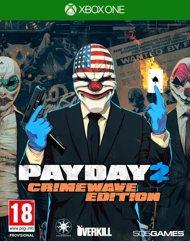 Payday 2_Xbox One_caratula
