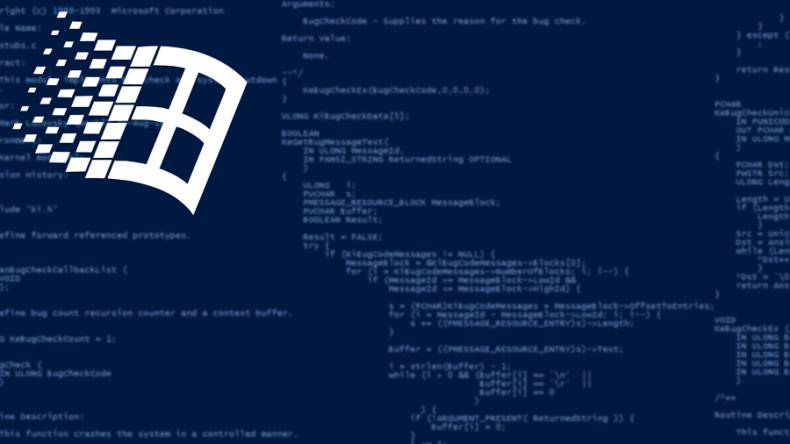 Windows source code