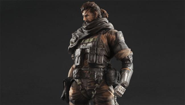figuras de Big Boss en Metal Gear Solid V: The Phantom Pain