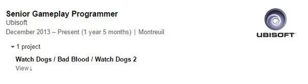 watch dogs 2 linkedin