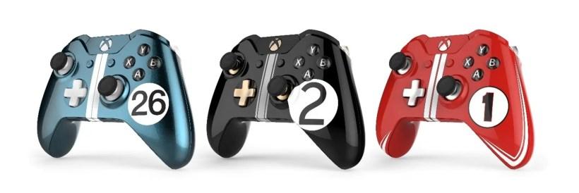 mandos personalizados de Xbox One_LeMans Hero