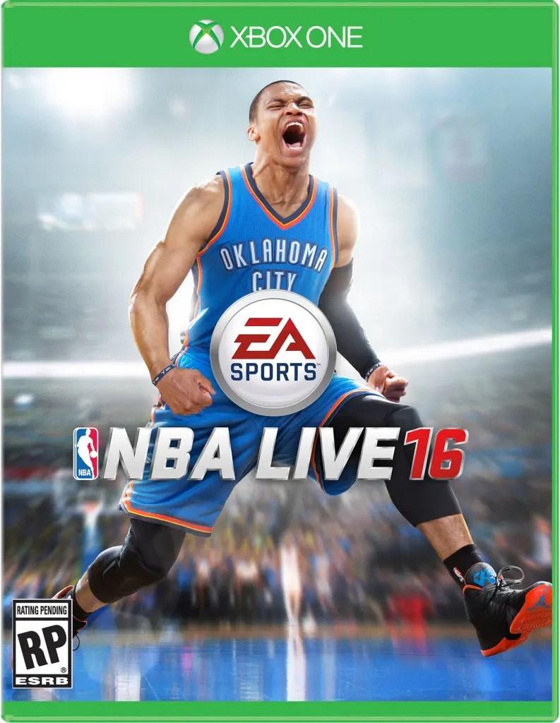 NBA Live 16 cover