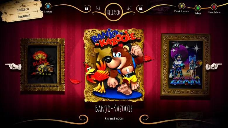 Rare-Replay-E3-2015-game-menu
