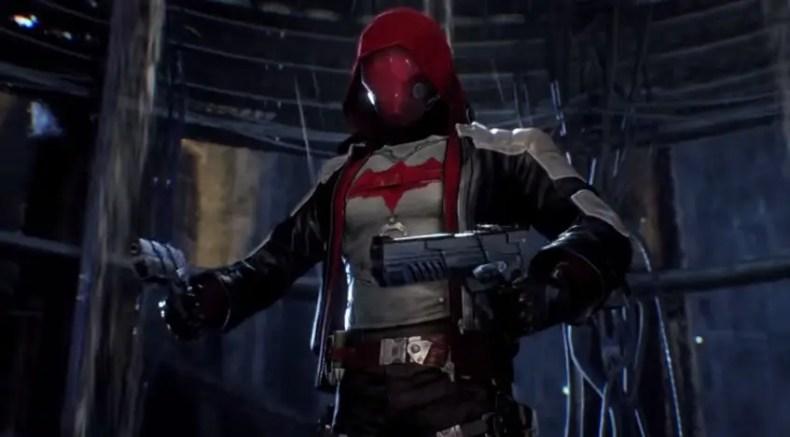 batman arkham knight capucha roja