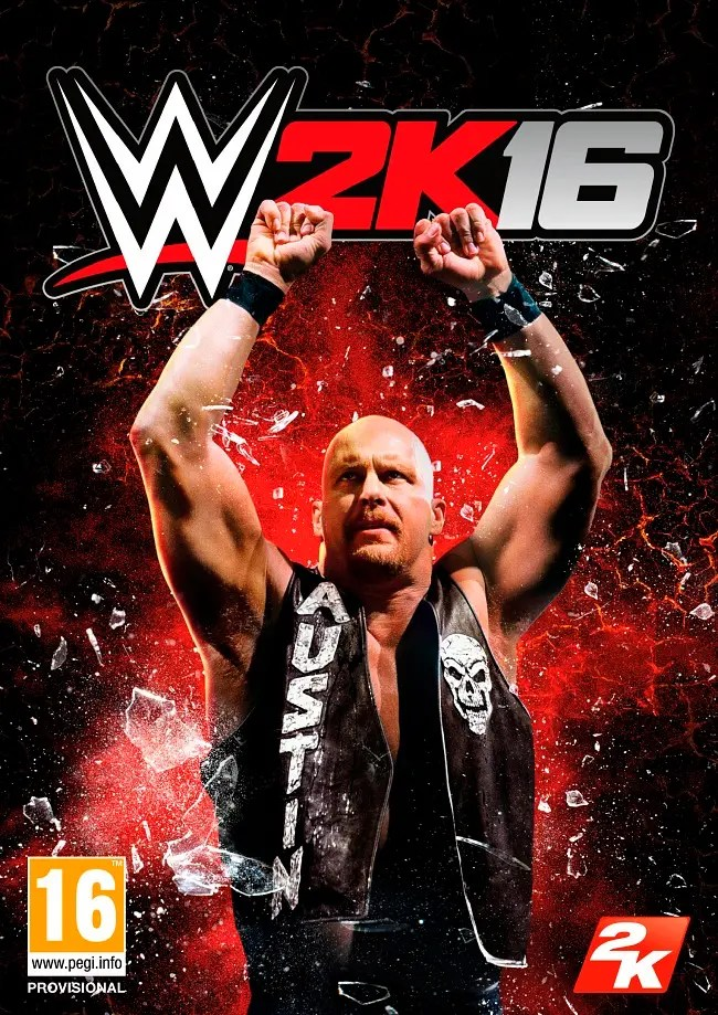WWE2k16 cover SomosXbox