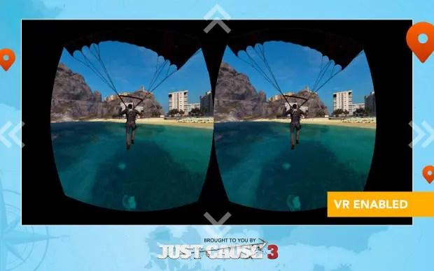 Wingsuit Experience de Just Cause 3