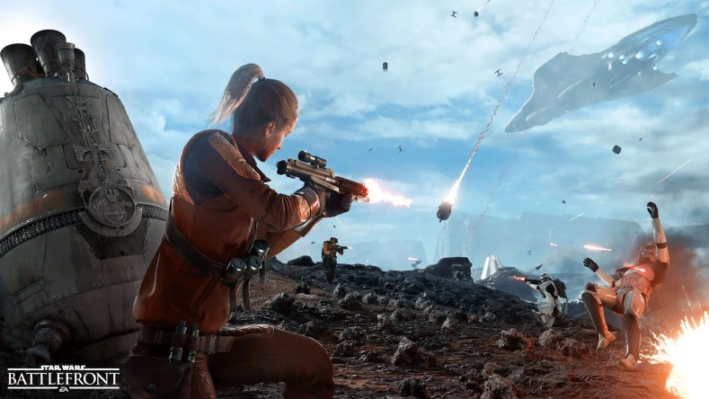 modo Drop Zone de Star Wars Battlefront