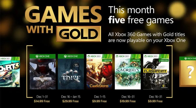 games with gold diciembre