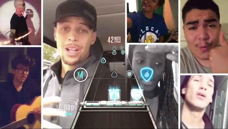 Guitar Hero Live Stephen Curry y Shaquille O'Neal