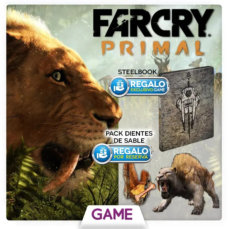 FarCryPrimal_SteelbookExcGAME