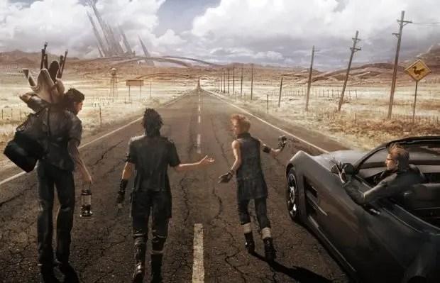 FFXV-Road