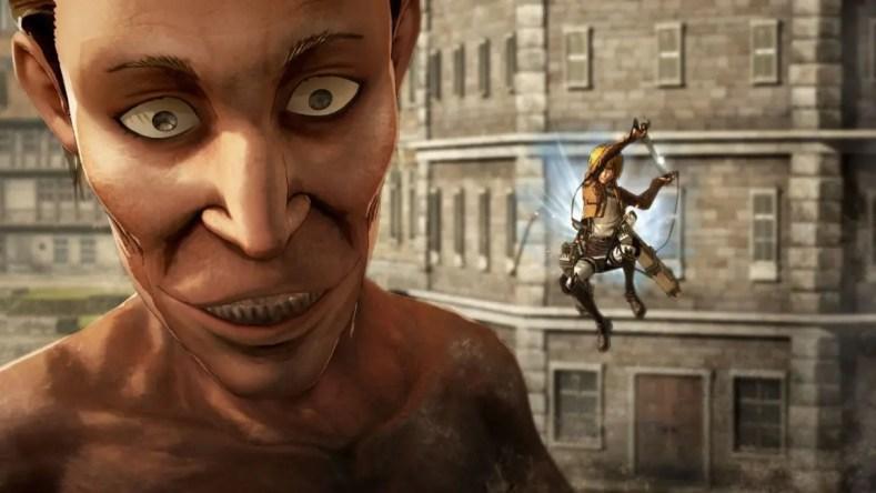 imágenes y gameplay de Ataque a los Titanes