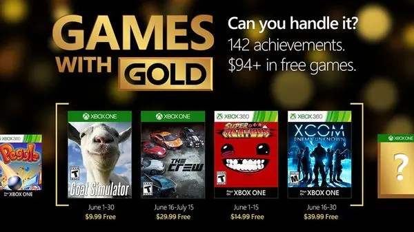 nuevos games with gold