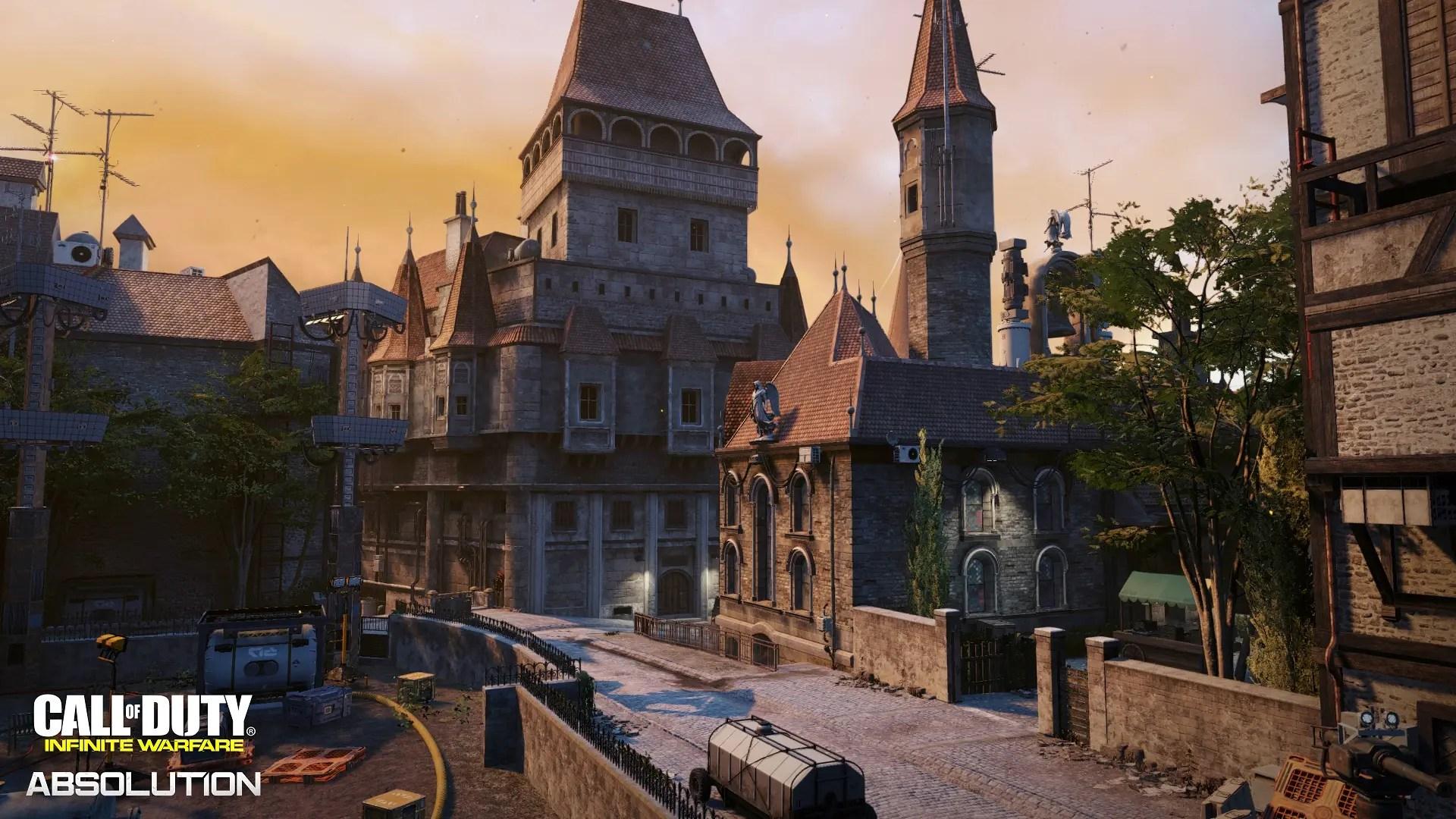 Mapa Ember en Call of Duty: Infinite Warfare Absolution