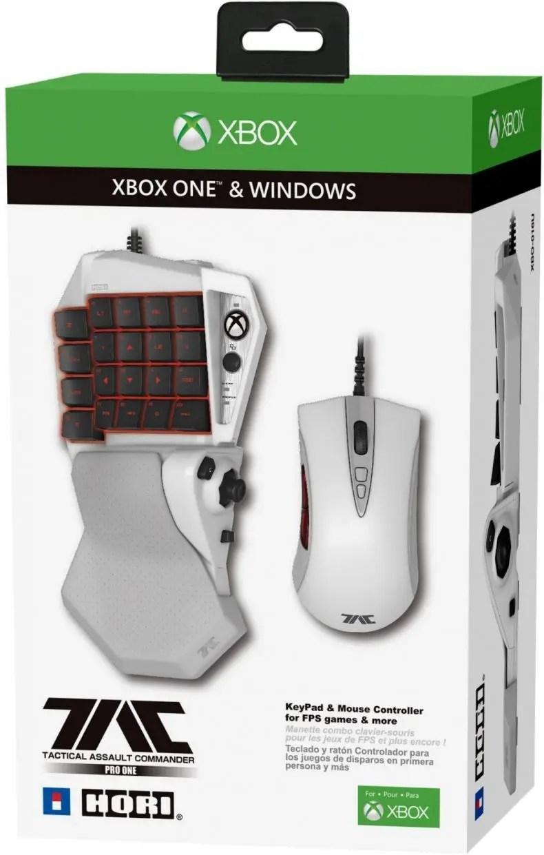 TAC Pro One Es El Teclado Y Ratn De Hori Para Xbox One