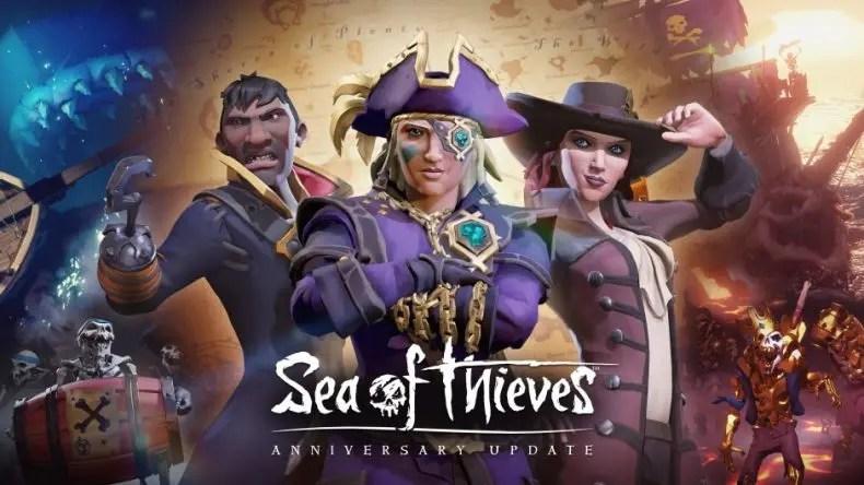 mar de ladrões annyversary update