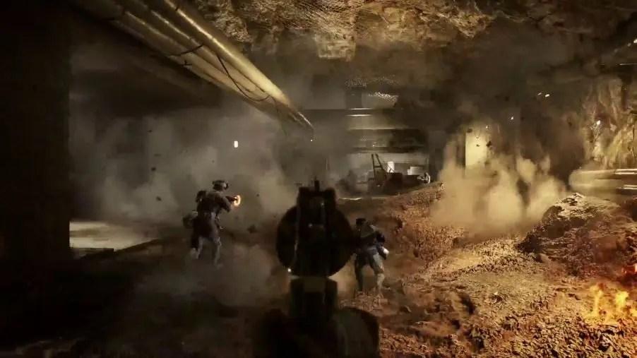 Primeiro, veja a Operação Underground, o novo mapa do Battlefield V