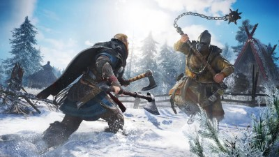 Assassin's Creed Valhalla shows a brutal fight in a recent video