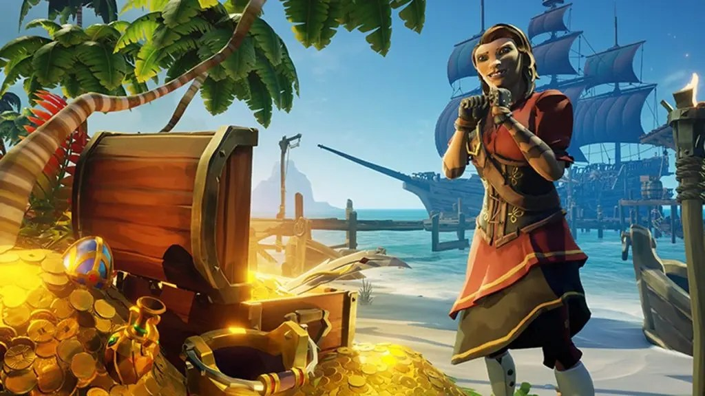 Sea of Thieves Adds Borderlands-Inspired Ship Skin
