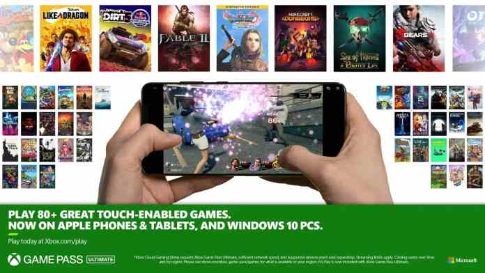 14 more titles come with touch controls to Xbox Game Pass 2