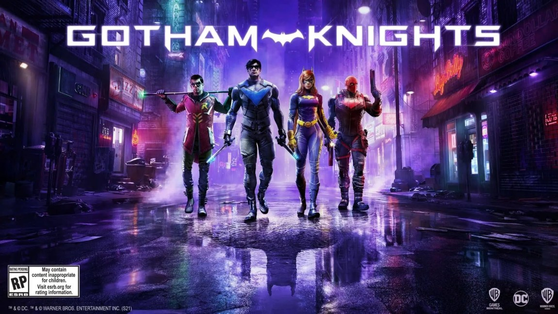 Gotham Knights shines in a new image, announcing that there will be new information during DC Fandome 1