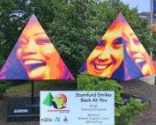 Somrod Pyramid Smiles Art Shapes Stamford