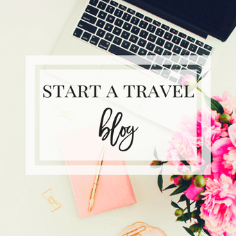 Start a travel blog course