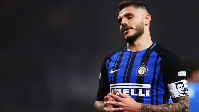 Inter Milan bans Icardi from playing for the squad_somtosports