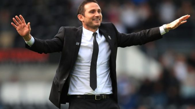 Official Lampard takes charge of Stamford Bridge for 1