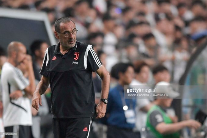Former Chelsea manager, Sarri to miss Juventus opener as he battles with health issues.1