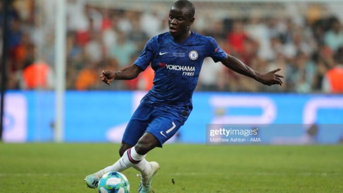 N'golo Kante reveals he is happier with his new role at Chelsea midfield.