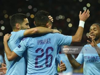 City cruises to comfortable Champions league opener