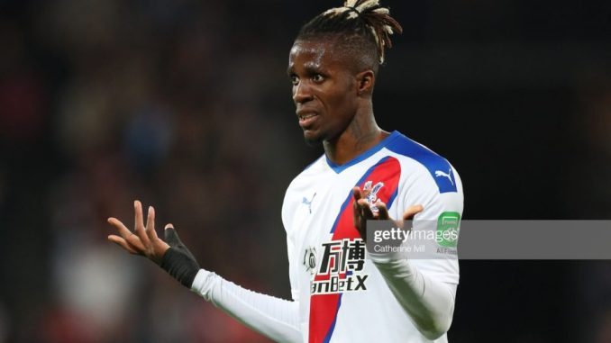 Paper talks Wilfried Zaha takes legal actions against his agent for failing to materialize a deal of Crystal palace last summer