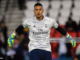 Real Madrid drop Courtois as Alphonse Areola sets for second start against Granada