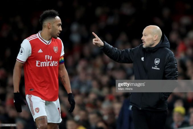 Aubameyang Hints on Arsenal exit as He pulls out of Contract talks 1