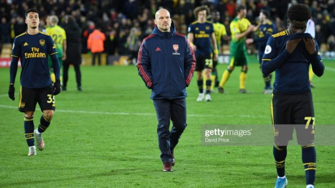 Ex Arsenal Player Criticized Ljungberg Squad selection against Norwich