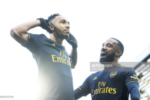 Inter Milan and Real Madrid on Auba as he refuses to extend Arsenal contract 2
