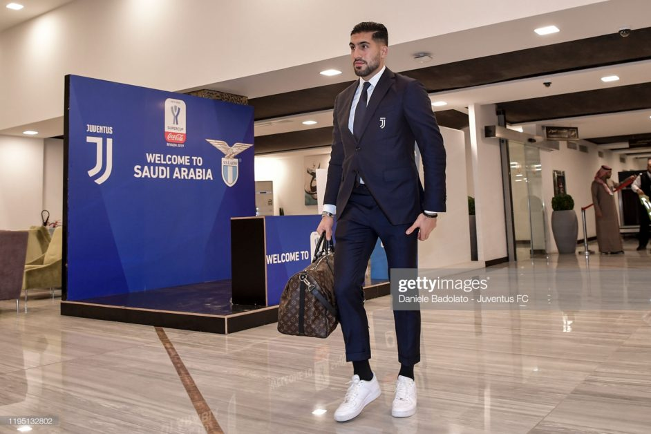 Emre Can draws nearer to Juventus exit; pushes for Dortmund deal