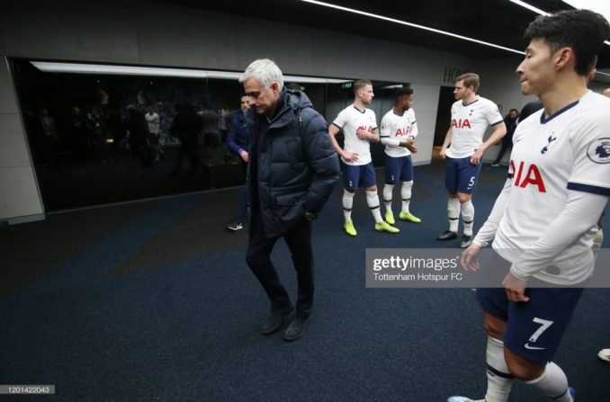 Jose Mourinho cries out over tight after-winter-break Tottenham Schedule