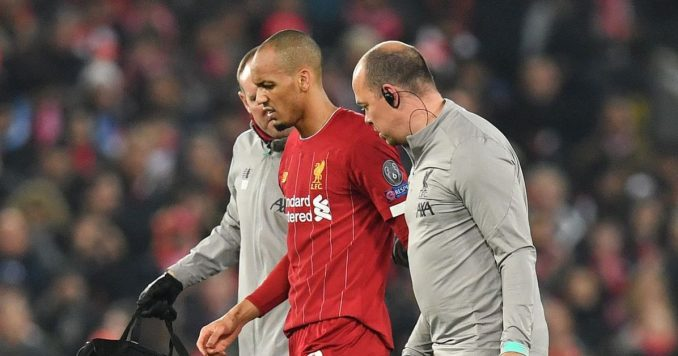 Liverpool's injured trio set to come back 1