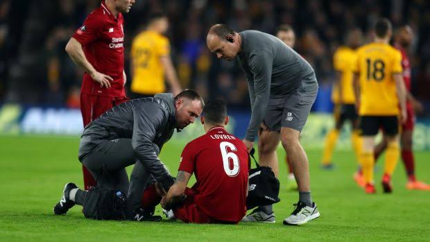 Liverpool's injured trio set to come back 2